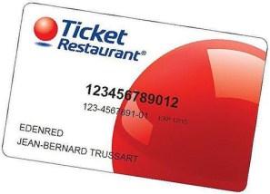 Carte de chèque repas électronique