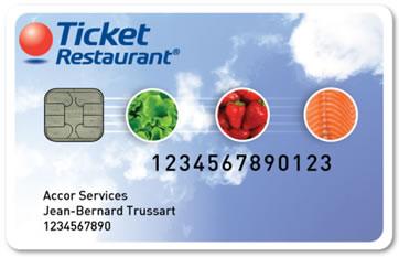 Ticket restaurant électronique